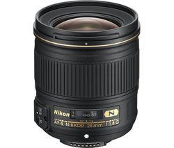 NIKON AF-S NIKKOR 28 mm f/1.8G Wide-angle Prime Lens