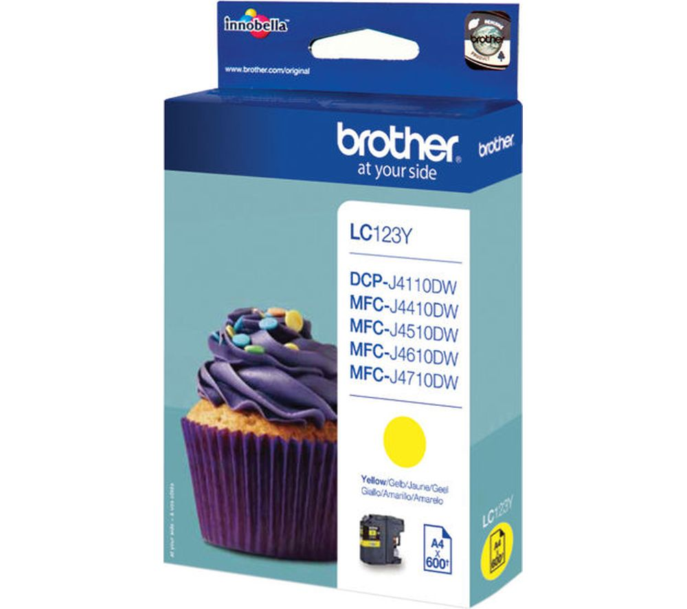 Compare retail prices of Brother LC123Y Yellow Ink Cartridge to get the best deal online