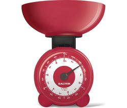 Orb Mechanical Kitchen Scales - Red