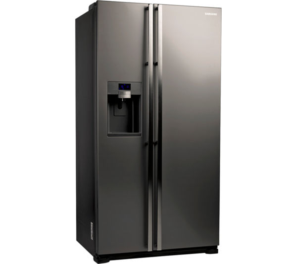 Beautiful American Fridge Freezer Part - 3: SAMSUNG RSG5UUMH American-Style Fridge Freezer - Manhattan Silver