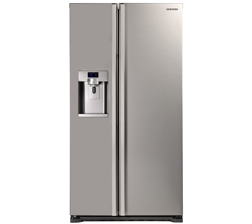 buy samsung rsg5uumh american style fridge freezer manhattan silver free delivery currys. Black Bedroom Furniture Sets. Home Design Ideas