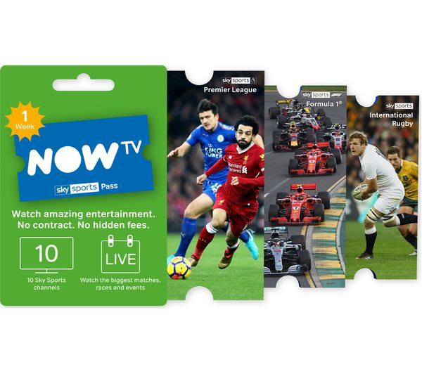 Image of NOW TV Sky Sports Pass - 1 Week