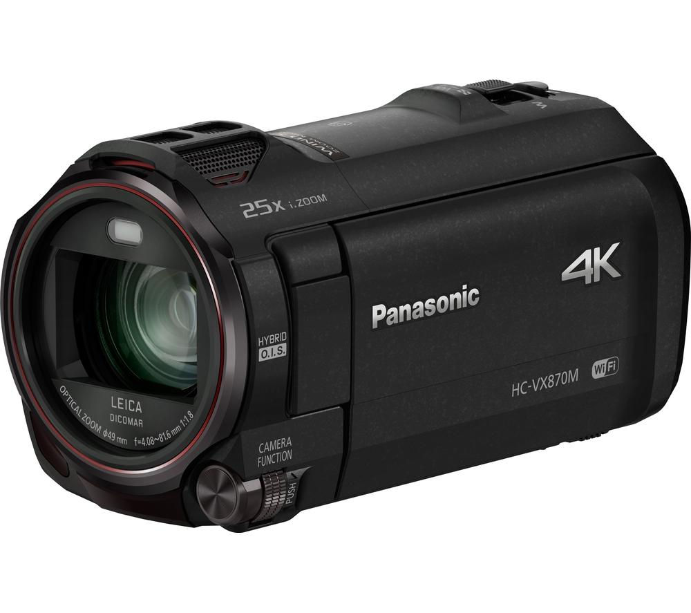 PANASONIC HC-VX870EB-K 4k Ultra HD Camcorder - Black + Ultra Performance Class 10 microSDHC Memory Card - 32 GB + Adventura SH110 ll Camcorder Case - Black