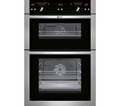 NEFF U16E74N5GB Electric Double Oven - Stainless Steel