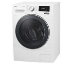 LG Centum FH6F9BDS2 Smart Washing Machine - White
