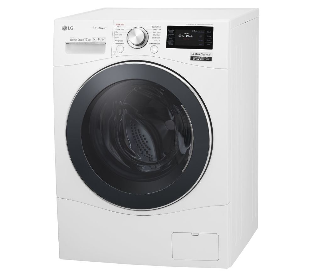 Lg Washing Machine ~ Buy lg centum fh f bds smart washing machine white
