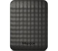 MAXTOR M3 Portable Hard Drive - 2 TB, Black