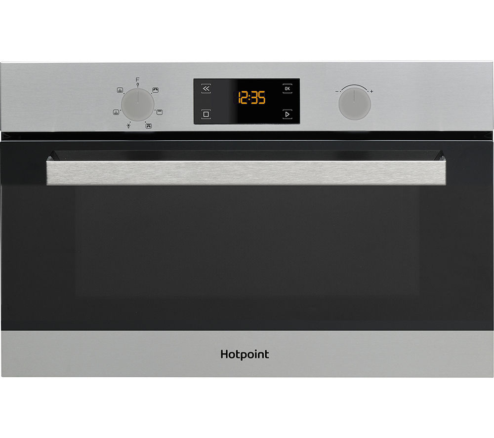 Hotpoint Cl 3 Md 344 Ix H Built In Microwave With Grill Stainless Steel