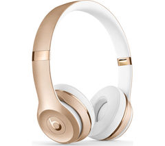 BEATS Solo 3 Wireless Bluetooth Headphones - Gold