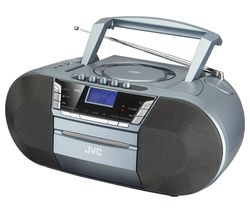 RC-D327B DAB/FM Bluetooth Boombox - Grey
