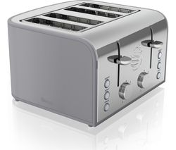 SWAN Retro ST17010GRN 4-Slice Toaster - Grey
