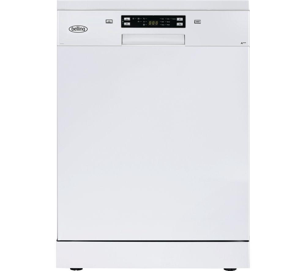 BELLING  FDW150 Full-size Dishwasher – White, White