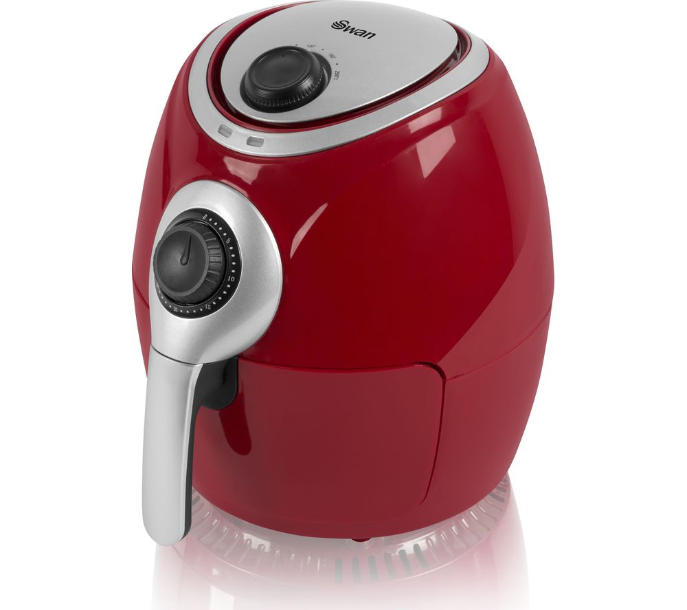 SWAN SD90010REDN Air Fryer - Red, Red