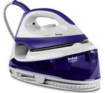 TEFAL Fasteo SV6020 Steam Generator Iron - Purple & White