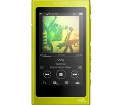 SONY Walkman NW-A35 Touchscreen MP3 Player with FM Radio - 16 GB, Yellow