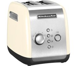 KITCHENAID 5KMT2116BAC 2-Slice Toaster - Cream