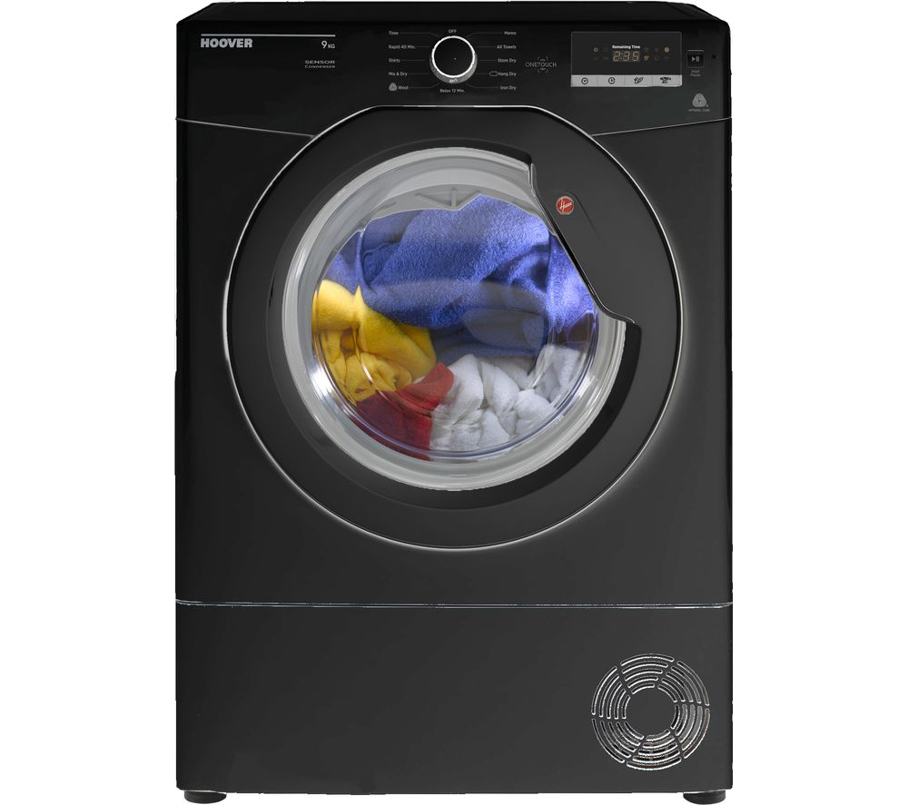 HOOVER Dynamic Next DX C9DGB NFC 9 kg Condenser Tumble Dryer - Black