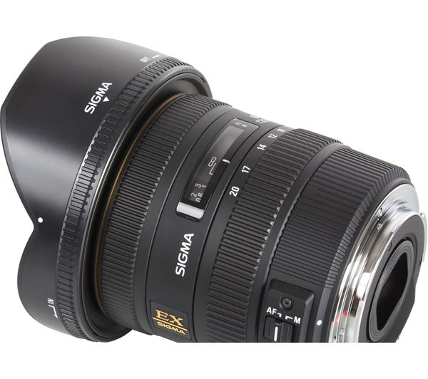 SIGMA 10-20 mm f/3 5 EX DC HSM Wide-angle Zoom Lens - for Nikon