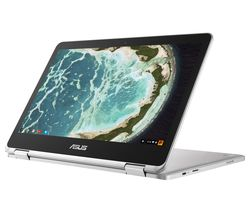ASUS Flip C302 2 in 1 Chromebook - Silver
