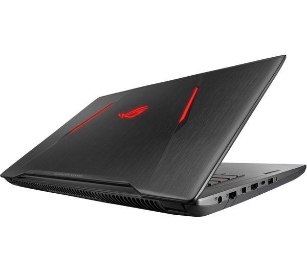 "Image of ASUS Republic of Gamers Strix GL702ZC 17.3"" Gaming Laptop - Black"