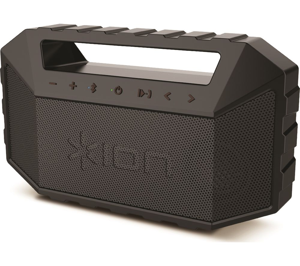 ION Plunge Portable Bluetooth Boombox - Black, Black