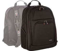 "I-STAY Fortis IS0204 15.6"" Laptop Backpack - Black"