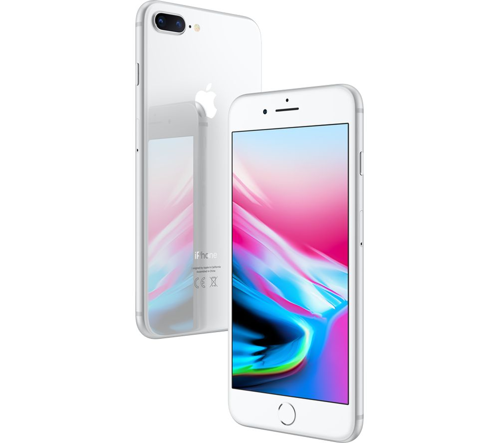 apple iphone 8 plus 256 gb silver deals pc world. Black Bedroom Furniture Sets. Home Design Ideas