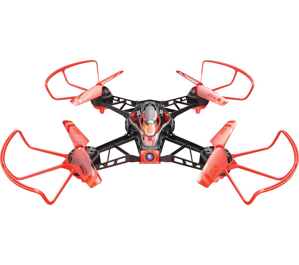 NIKKO AIR DRL Race Vision 220 FPV Pro Drone with Controller - Red & Black, Red