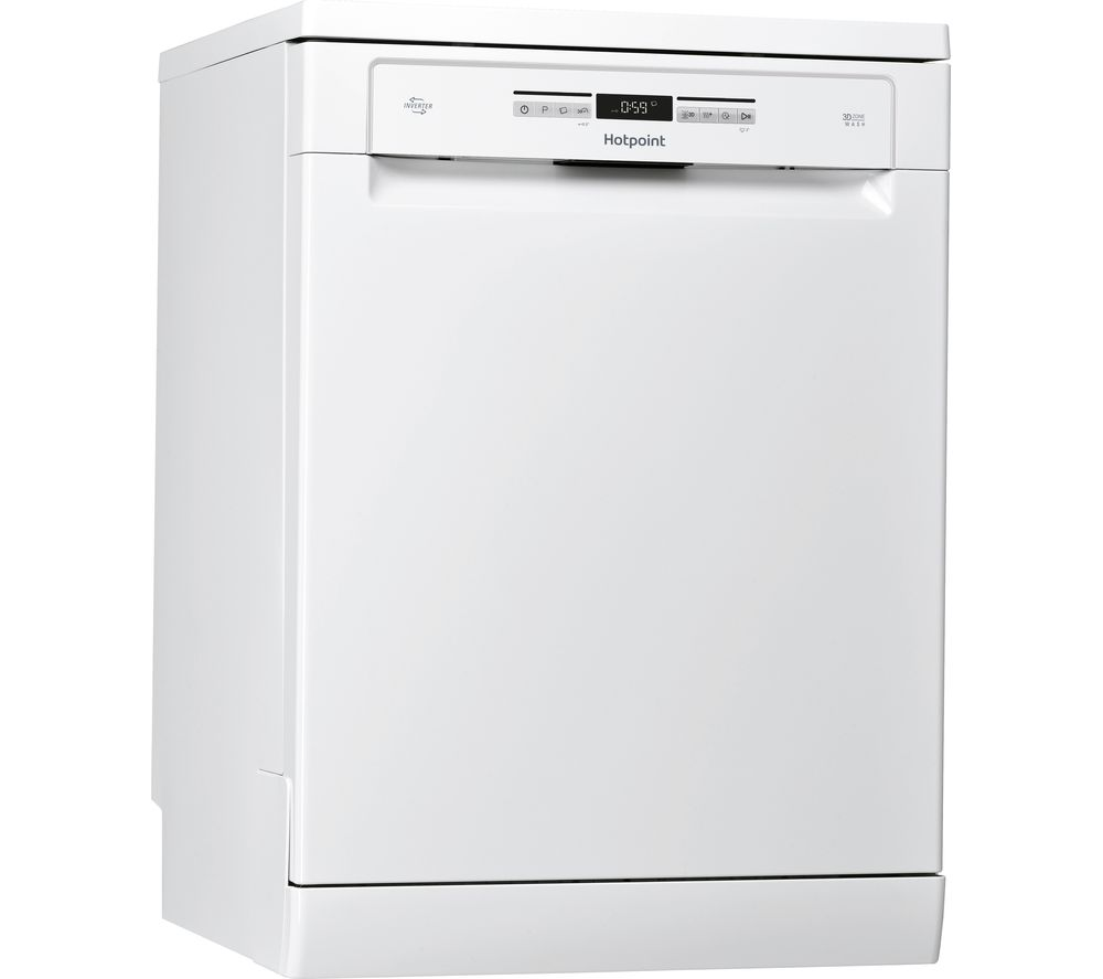 HOTPOINT HFO 3P23 WL Full-size Dishwasher - White
