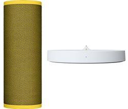 ULTIMATE EARS Blast Portable Bluetooth Voice Controlled Speaker - Lemonade