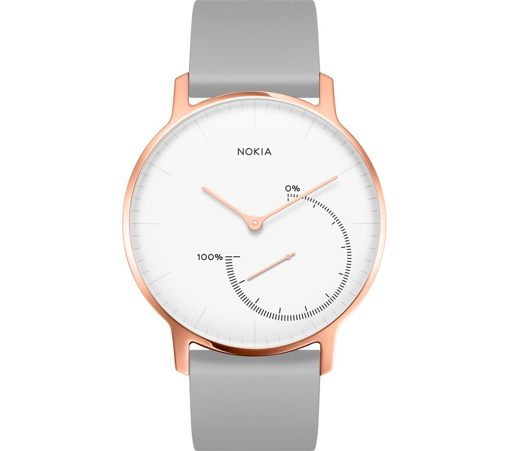 NOKIA Steel Fitness Watch - Rose Gold