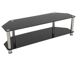 AVF SDC1400 TV Stand - Black & Chrome