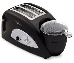 TEFAL Toast 'n' Egg TT550015 2-Slice Toaster