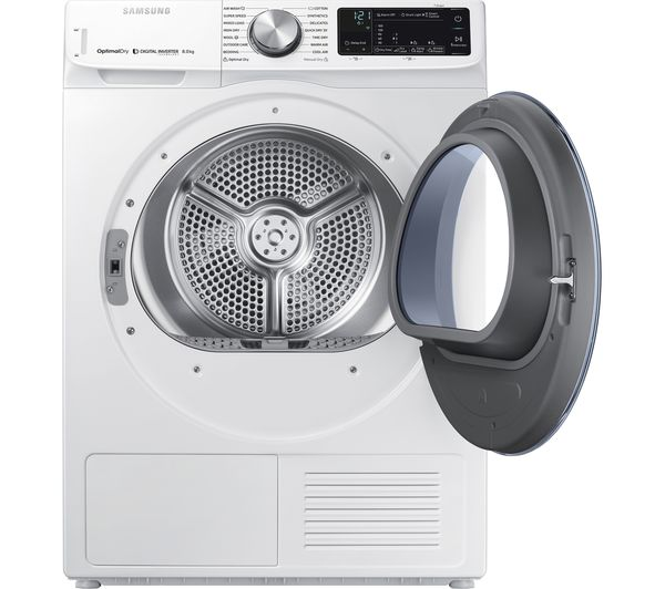 SAMSUNG DV80N62532W Smart 8 kg Heat Pump Tumble Dryer - White
