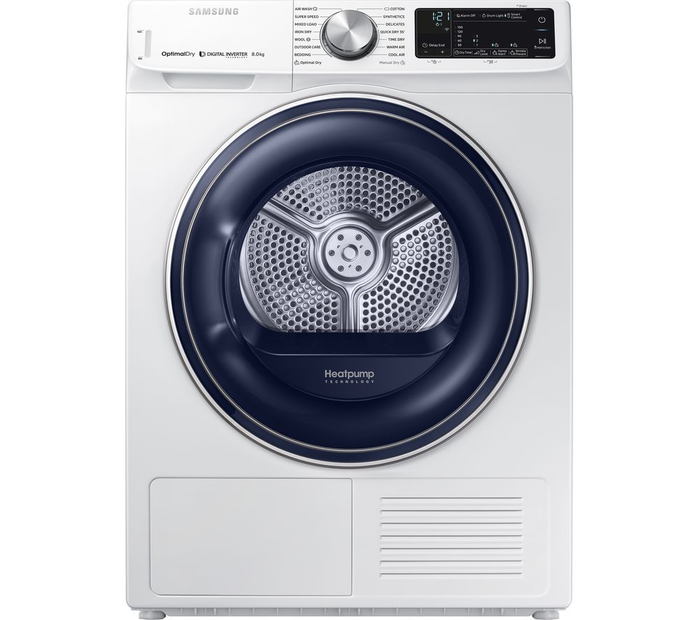 Buy SAMSUNG DV80N62532W Smart 8 kg Heat Pump Tumble Dryer
