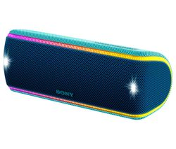 SONY SRS-XB31 Portable Bluetooth Wireless Speaker - Blue