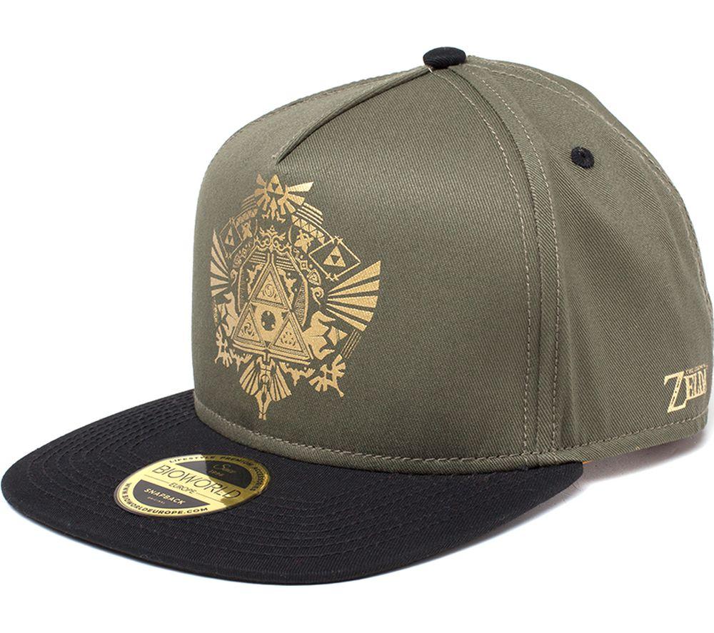825bf4d9 Buy NINTENDO Zelda Golden Triforce Logo Snapback Cap - Green | Free  Delivery | Currys