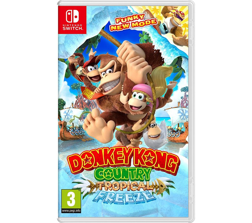 Image of NINTENDO Switch Donkey Kong Country Tropical Freeze