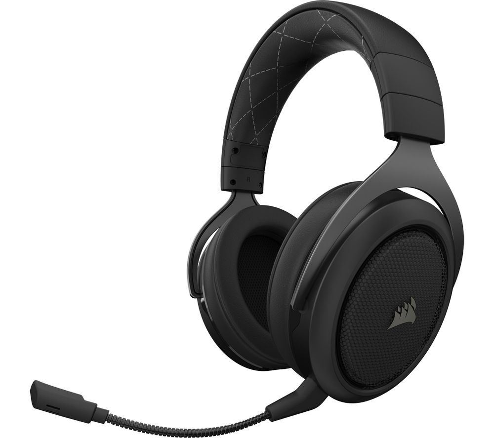 CORSAIR HS70 Wireless 7.1 Gaming Headset - Black