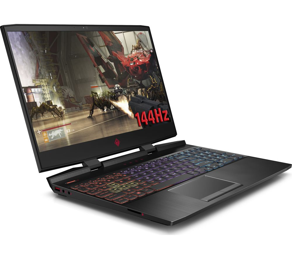 "Image of HP OMEN 15.6"" Intel® Core™ i7 GTX 1070 Gaming Laptop - 1 TB HDD & 256 GB SSD"