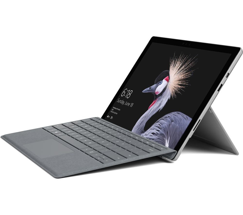 "Image of MICROSOFT 12.3"" Intel® Core™ i5 Surface Pro - 256 GB, Silver, Silver"