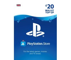 PLAYSTATION Network Wallet Top Up - £20