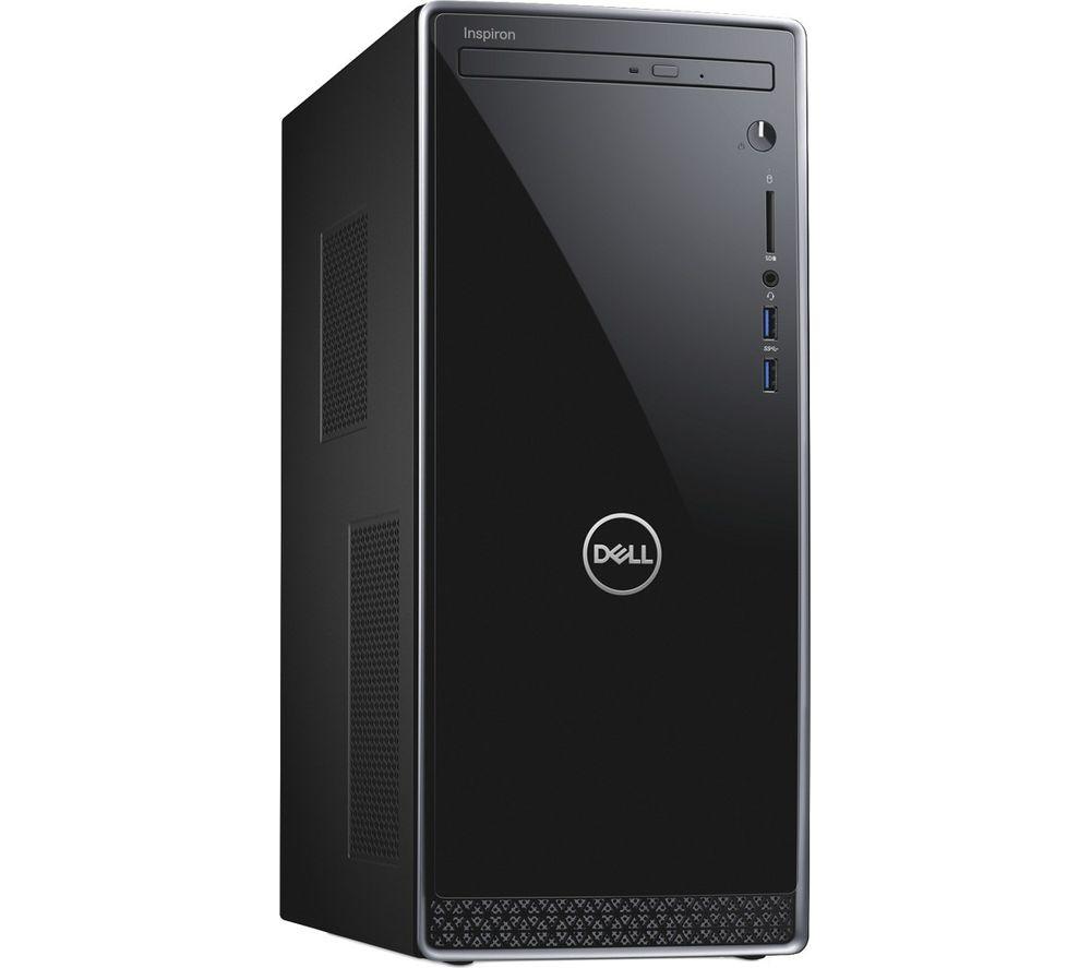 DELL Inspiron 3670 Intel® Core™ i5 Desktop PC - 1 TB HDD, Black & Silver