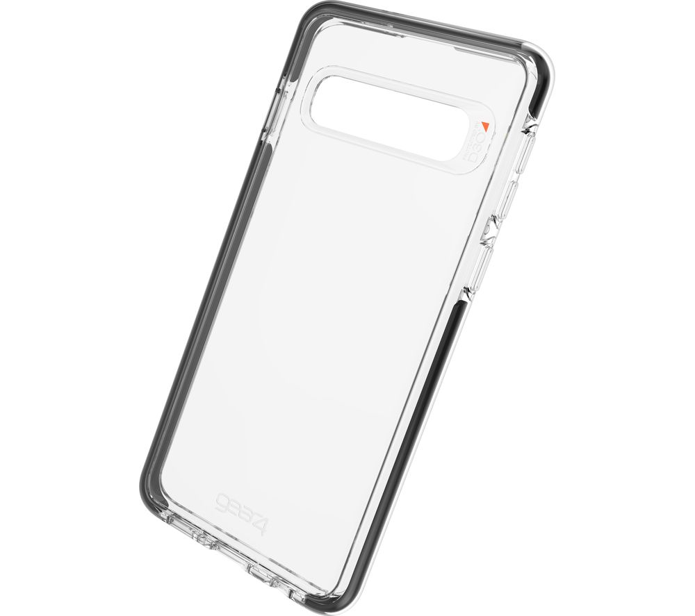 GEAR4 Piccadilly Galaxy S10 Case - Clear & Black