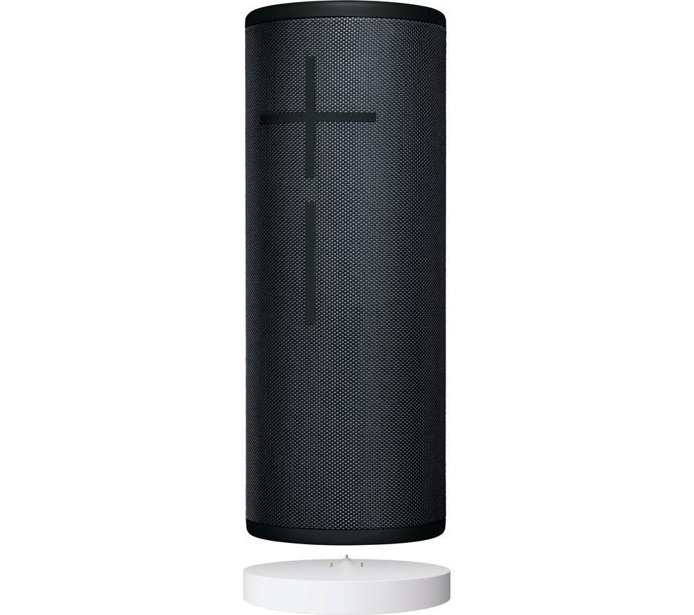 ULTIMATE EARS MEGABOOM 3 Portable Bluetooth Speaker & Power Up Charging Dock - Black, Black