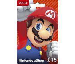 eShop Gift Card - £15
