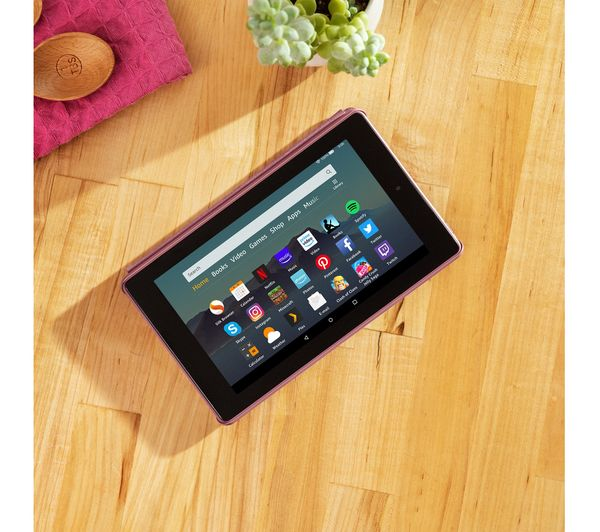 AMAZON Fire 7 Tablet (2019) – 16 GB Plum – Currys