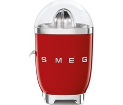 SMEG 50's Retro Style CJF01RDUK Citrus Juicer - Red Best Price, Cheapest Prices