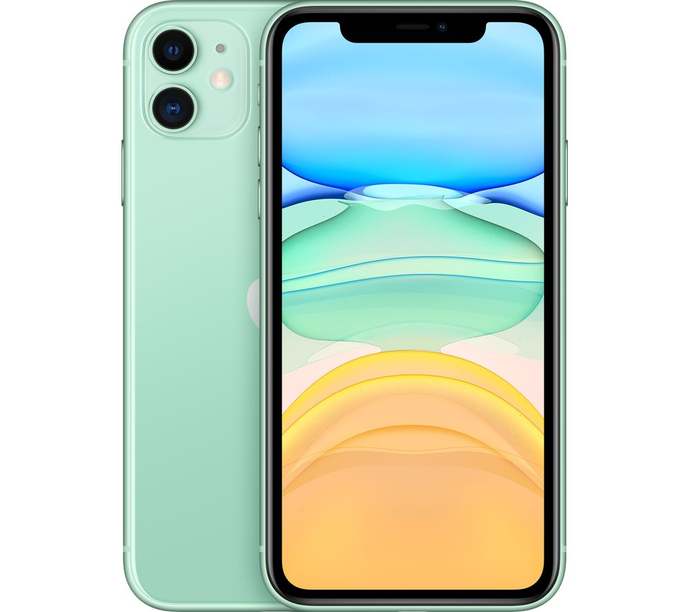 APPLE iPhone 11 - 128 GB, Green