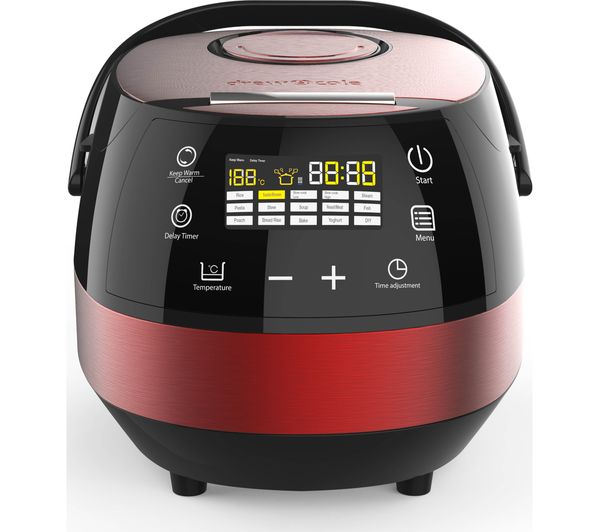 Image of DREW & COLE Clever Chef Multicooker - Red